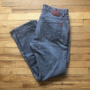Lifted Research Group LRG Grey Jeans 36